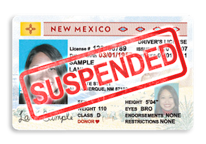Suspension of Driver's License